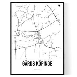 Gärds Köpinge Karta