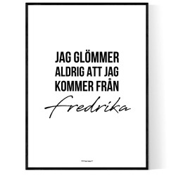 Från Fredrika