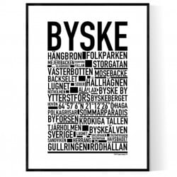 Byske Poster
