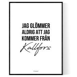 Från Kallfors