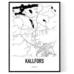 Kallfors Karta