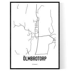 Ölmbrotorp Karta