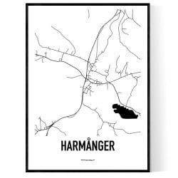 Harmånger Karta