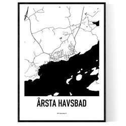 Årsta Havsbad Karta