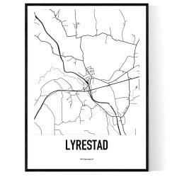 Lyrestad Karta