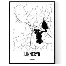 Linneryd Karta