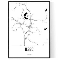 Ilsbo Karta
