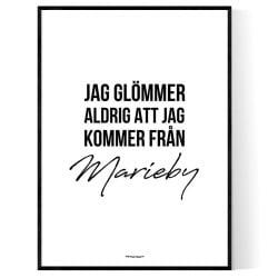 Från Marieby