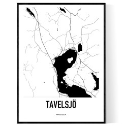 Tavelsjö Karta