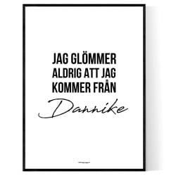 Från Dannike