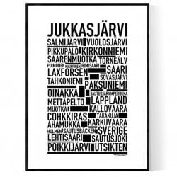 Jukkasjärvi Poster