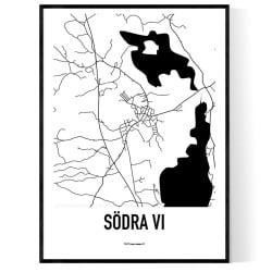 Södra Vi Karta