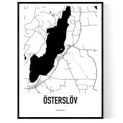 Österslöv Karta