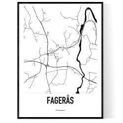 Fagerås Karta