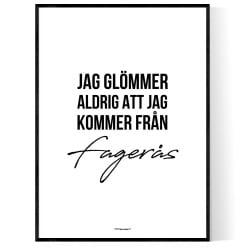 Från Fagerås