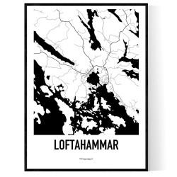 Loftahammar Karta