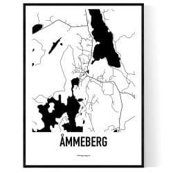Åmmeberg Karta