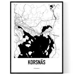 Korsnäs Karta
