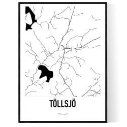 Töllsjö Karta