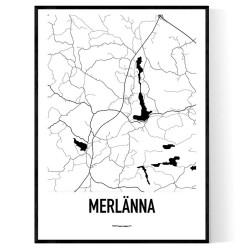 Merlänna Karta