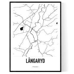 Långaryd Karta