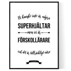 Vi Är Förskollärare Poster