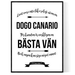 Livet Med Dogo Canario