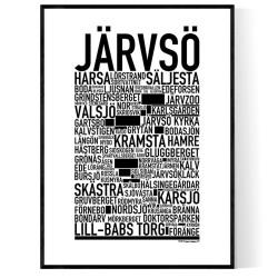Järvsö Poster