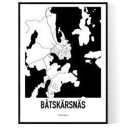 Båtskärsnäs Karta
