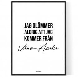 Från Väne-Åsaka Poster