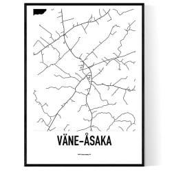 Väne-Åsaka Karta