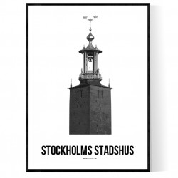Stockholms Stadshus Poster