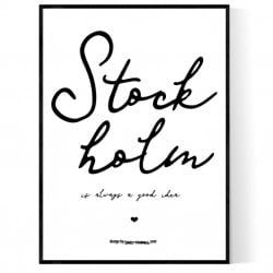 Always Stockholm Poster