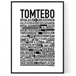 Tomtebo Poster