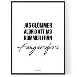 Från Fengersfors