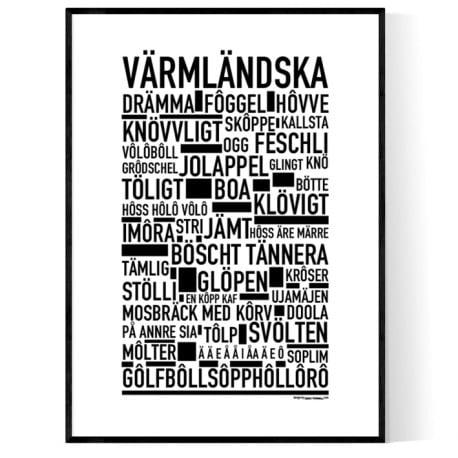 Värmländska Poster