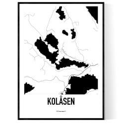 Kolåsen Karta