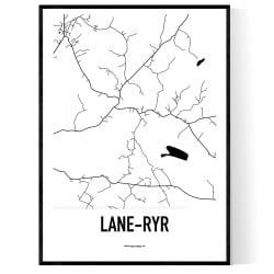 Lane-Ryr Karta