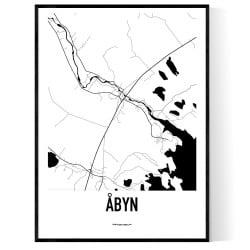 Åbyn Karta