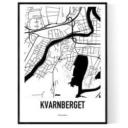 Kvarnberget Karta