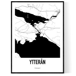 Ytterån Karta