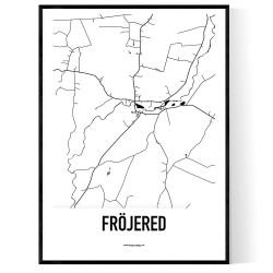 Fröjered Karta