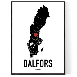 Dalfors Heart Poster