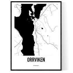 Orrviken Karta