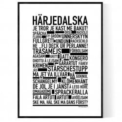 Härjedalska Poster