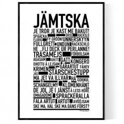 Jämtska Poster