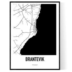 Brantevik Karta