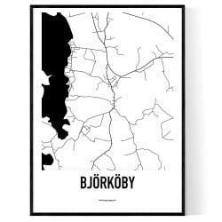 Björköby Karta