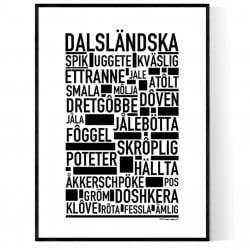 Dalsländska Poster