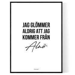 Från Alnö